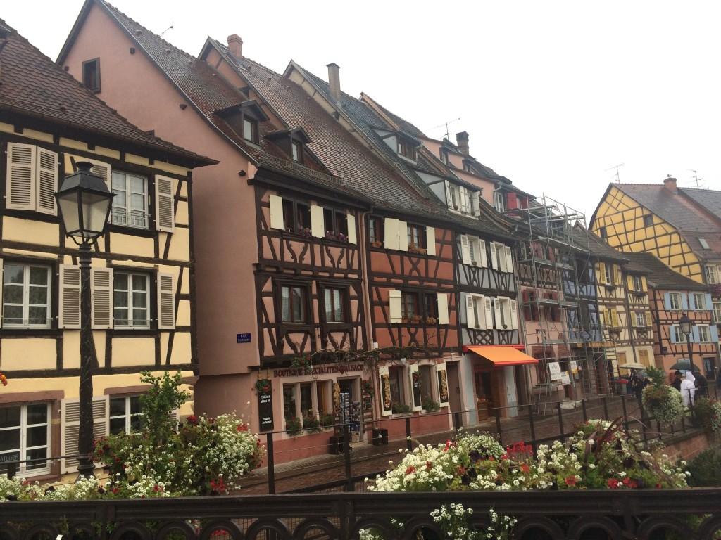 Flânerie à Colmar avec ses maisons à colombage