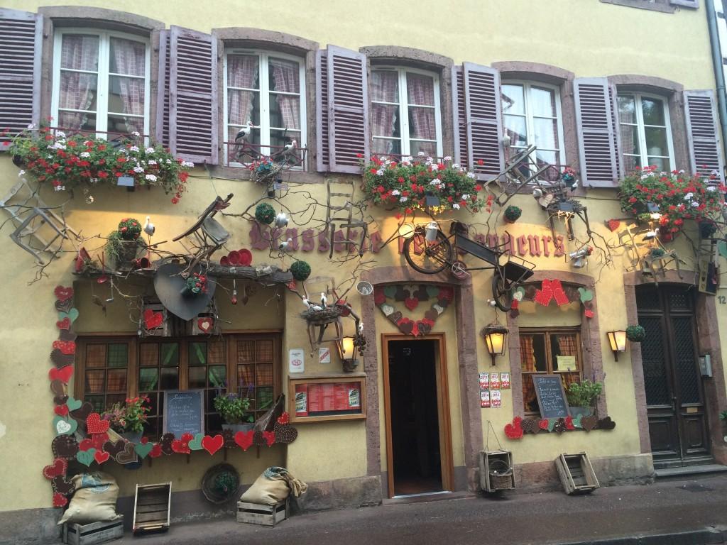 Flânerie à travers la vieille ville de Colmar