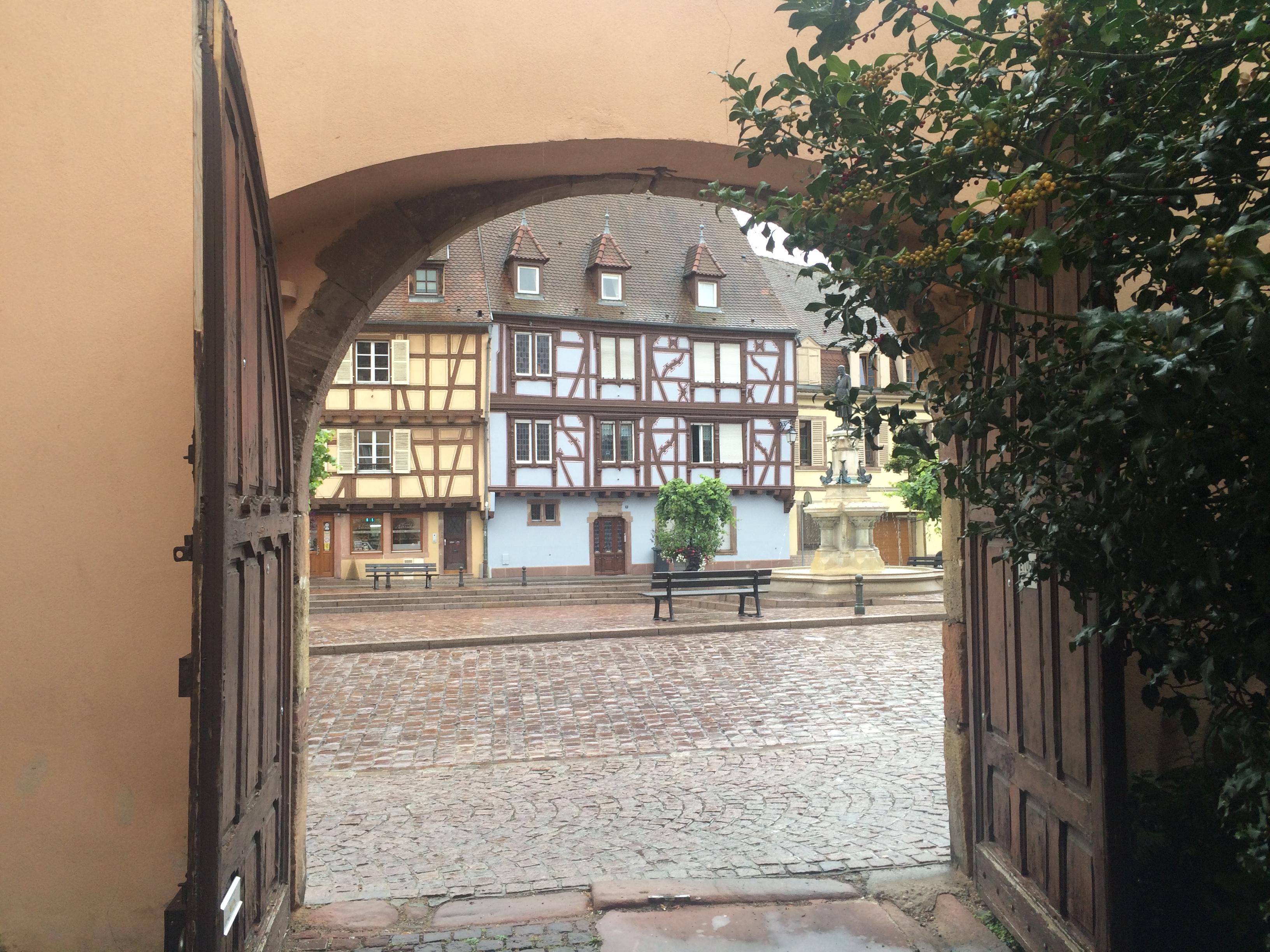 Colmar et ses maisons à colombage
