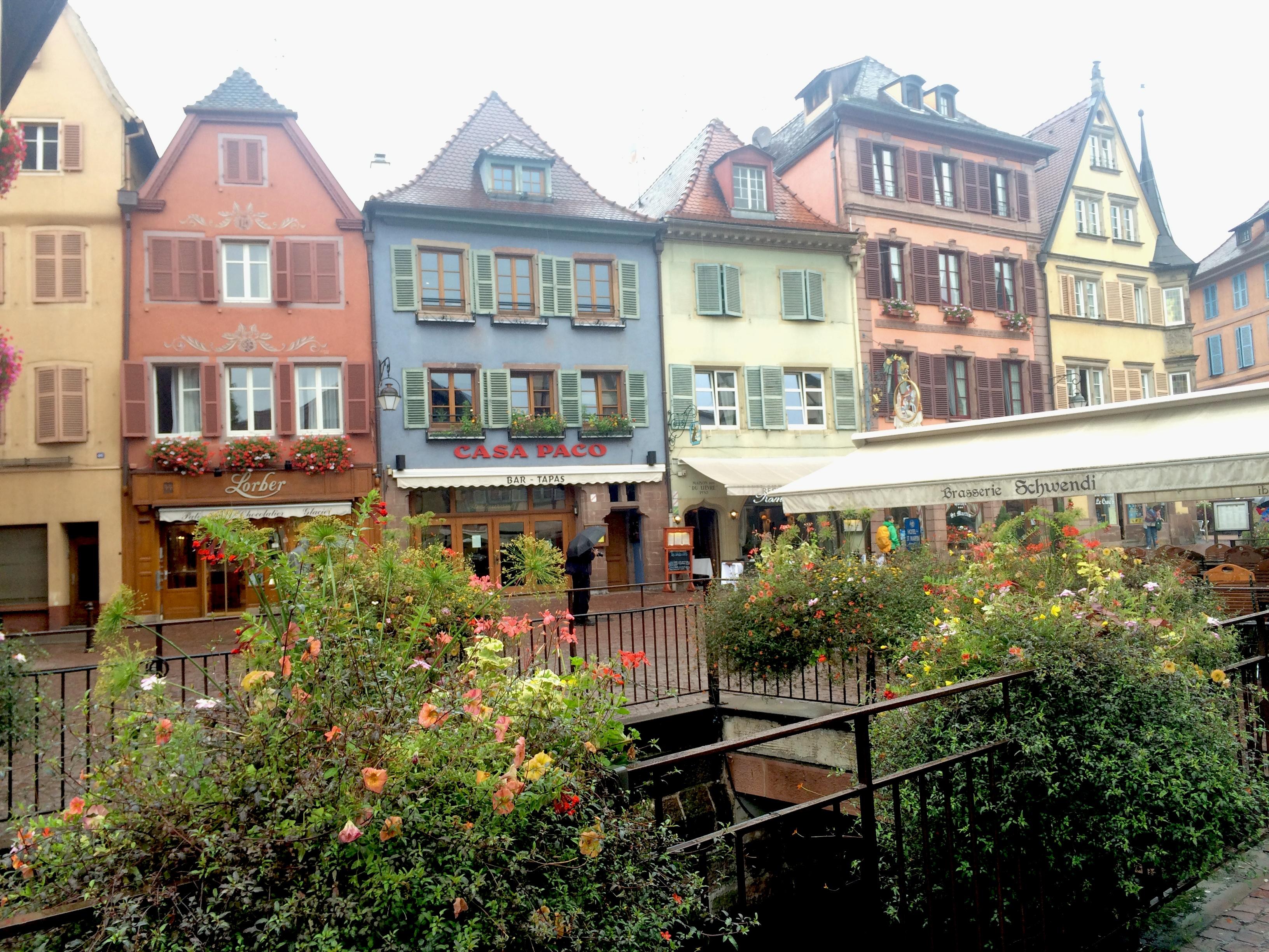 Flânerie dans la Petite Venise à Colmar