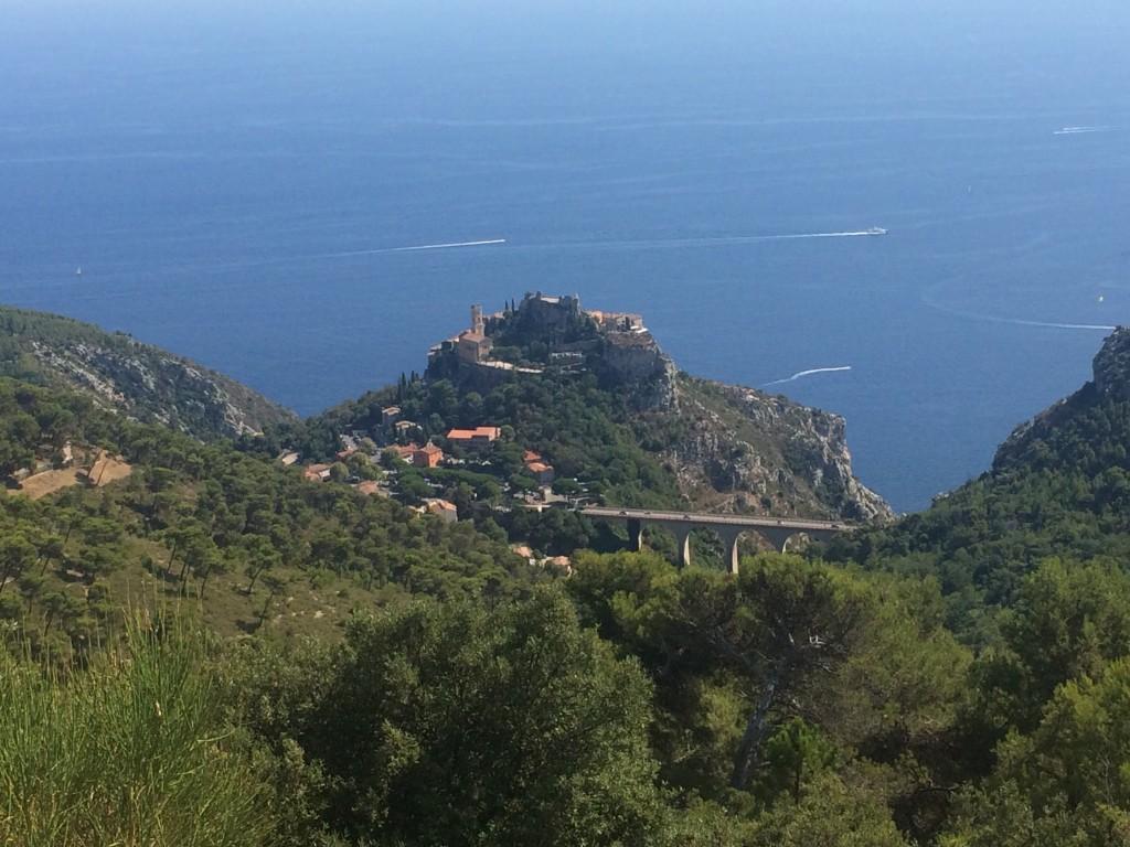 Eze Village et sa vue époustouflante sur la Méditerranée