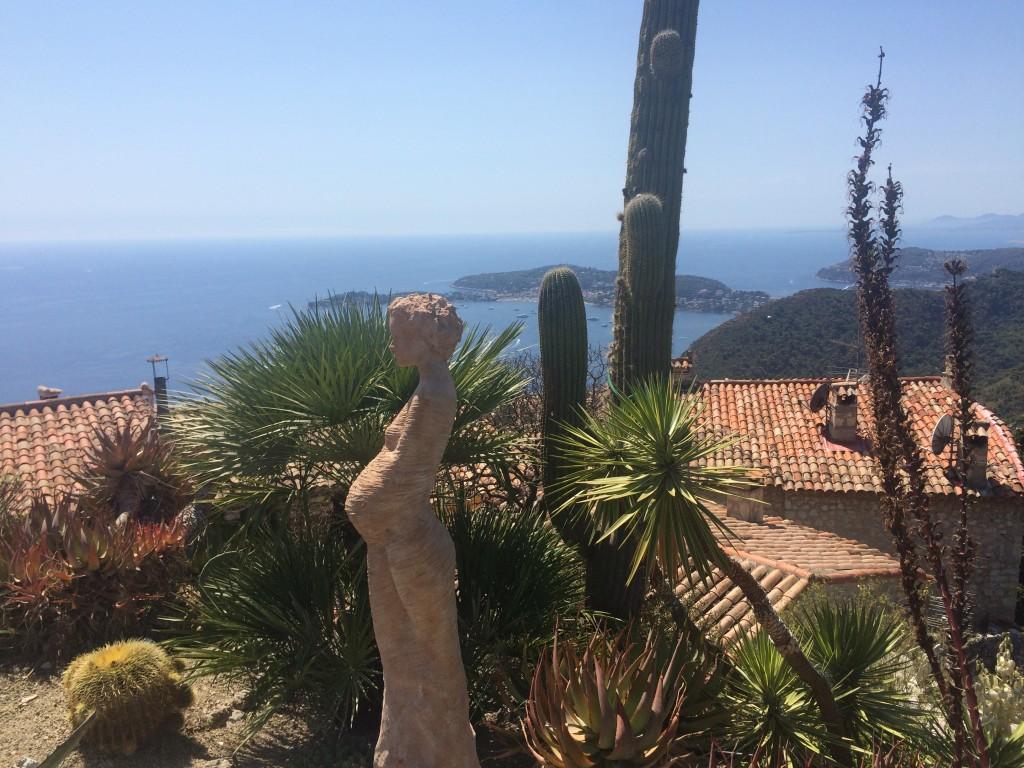 Eze Village et sa vue époustouflante sur la Méditerranée depuis le Jardin botanique