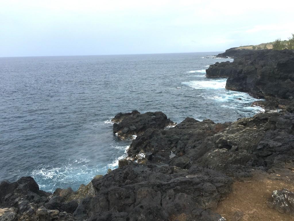 Cote sud de la Réunion