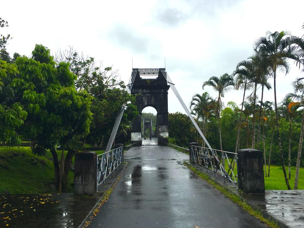 Pont suspendu Réunion