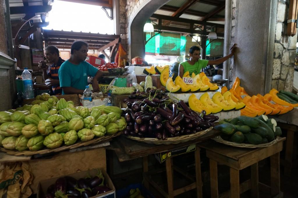 Port Louis marché