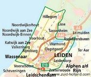 Region des tulipes près d'Amsterdam
