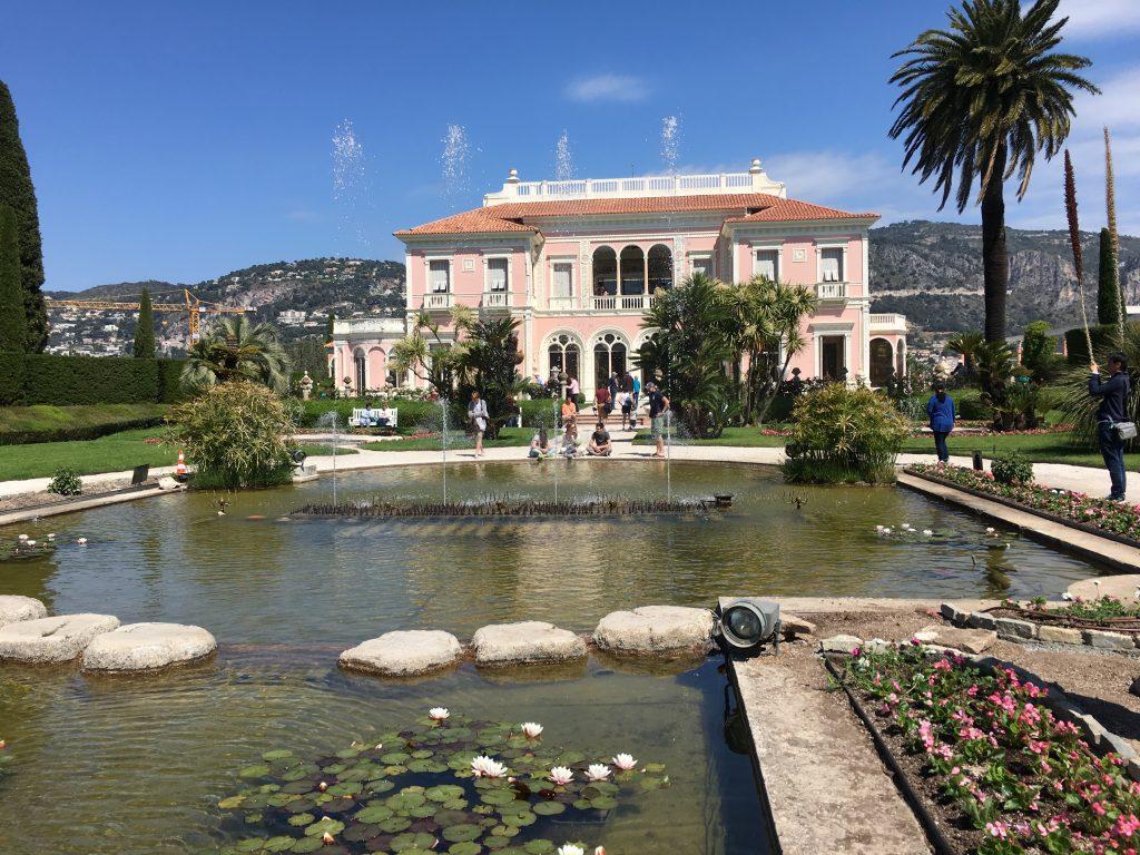 La villa ephrussi de rothschild saint jean cap ferrat for Jardin villa rothschild