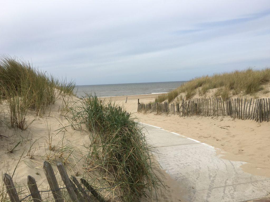 Noordwijk dunes de la Mer du Nord Hollande
